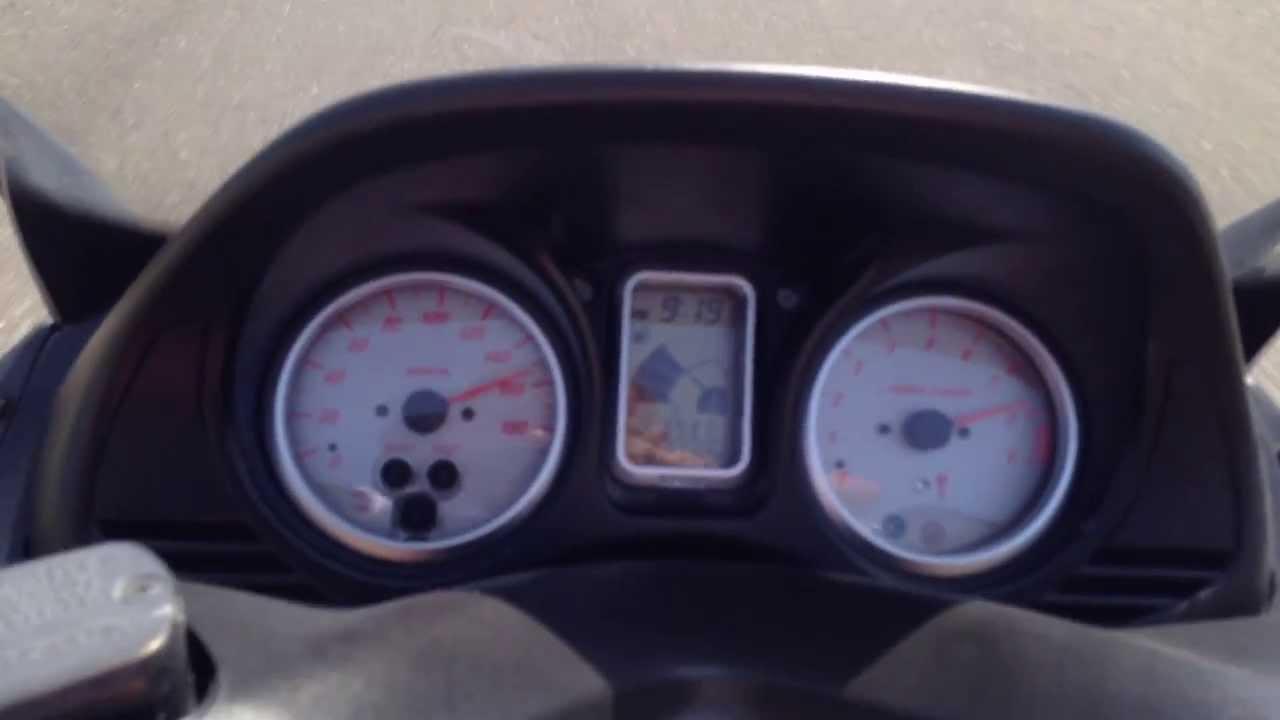 Yamaha T-MAX 500 top speed - YouTube
