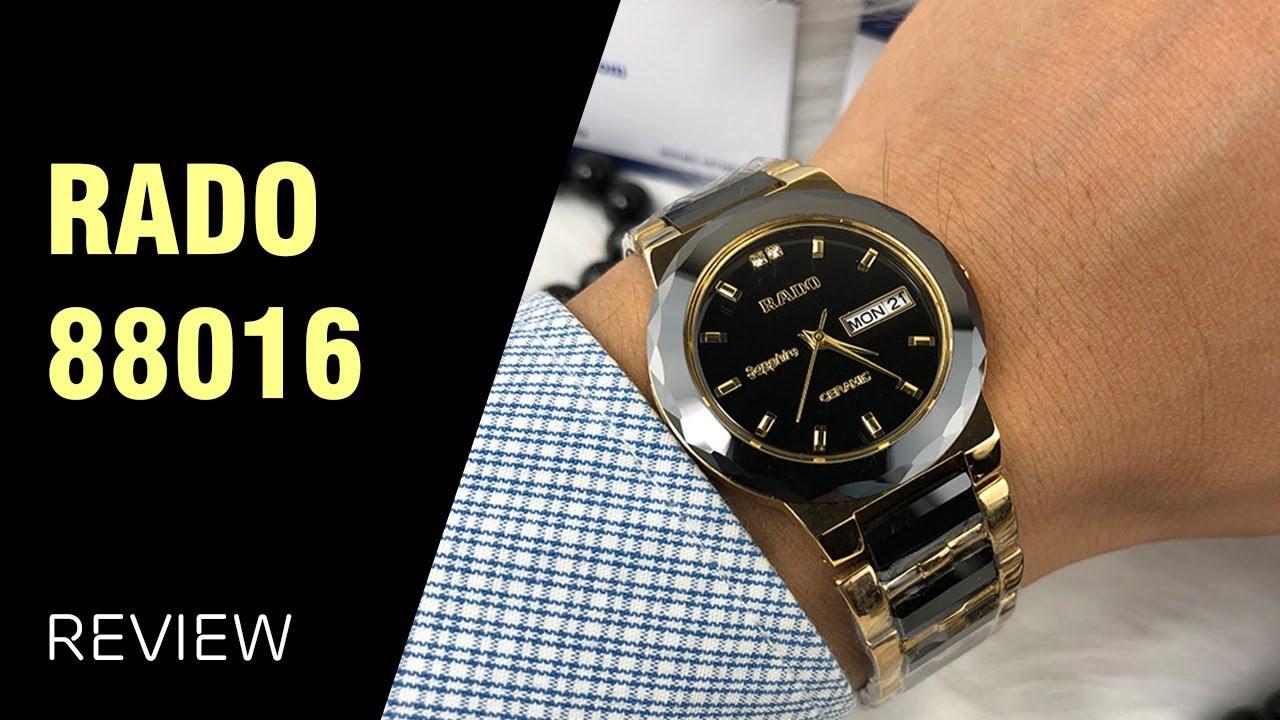 Đồng hồ cho nam tay nhỏ Rado 88016 mặt 34 mm
