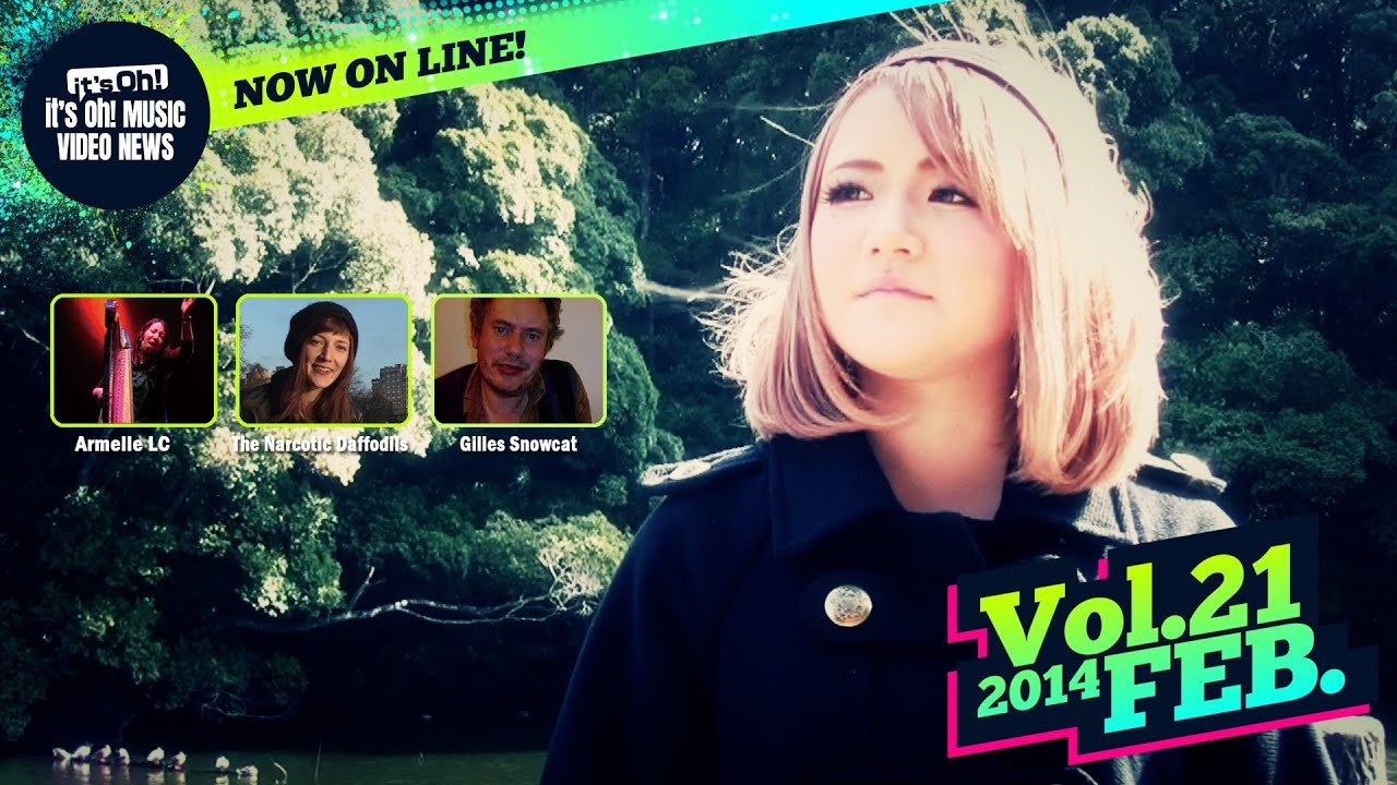 it's Oh! MUSIC Video News Vol.21 February 2014