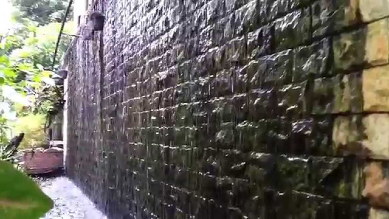 Natural Stone Water Wall Youtube