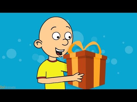 Caillou Gets Ungrounded on Christmas WATCH THE ENTIRE VIDEO