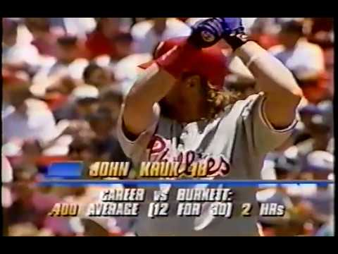 1994 Phillies at San Francisco   Bobby Munoz vs John Burkett