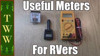 RVing: Meters & Multimeters
