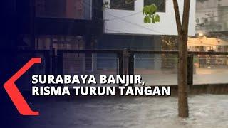 Pascabanjir Surabaya, Warga Apresiasi Tri Rismaharini Yang Turun Atasi Banjir