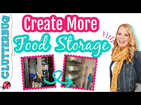 How to Create More Food Storage