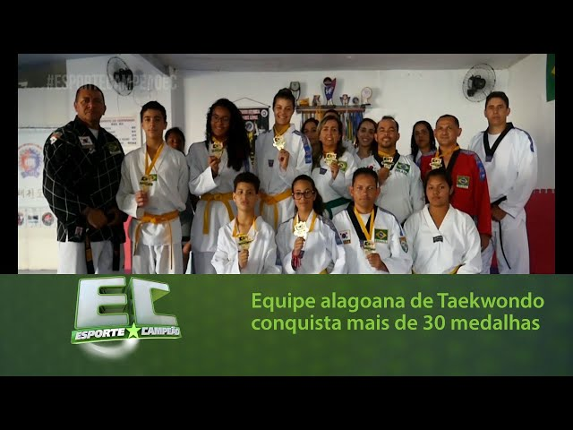 Equipe alagoana de Taekwondo conquista mais de 30 medalhas em competição nacional