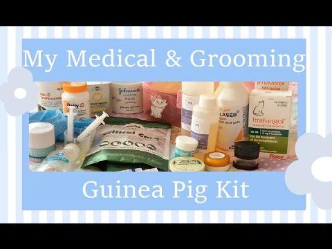 My Medical & Grooming Guinea Pig Kit