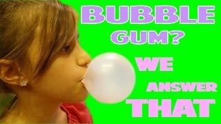 What Bubble Gum Blows The Best Bubbles? | WE ANSWER THAT EP. 6!