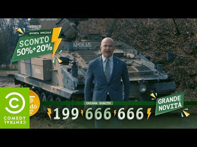 Giorgio Mastrota vende un Carro Armato - CCN - Comedy Central