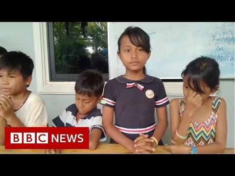 Cambodia's 'Rubbish School' where kids pay with plastic – BBC News