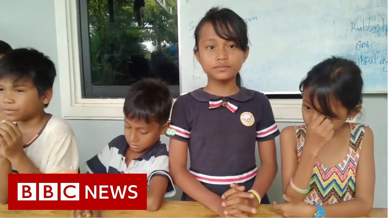 Cambodia's 'Rubbish School' where kids pay with plastic - BBC News