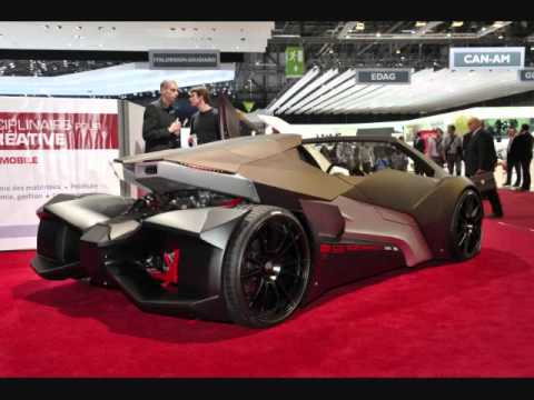 Sbarro Evoluzione Lamborghini Styled Go Kart 81st Geneva Motorshow