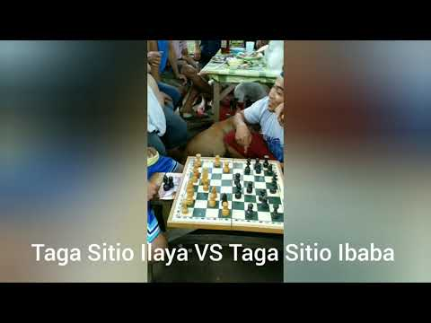 Amateur Chess Game: Taga Sitio Ilaya Vs Taga Sitio Ibaba, White Mate In 14 Moves.