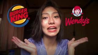 Wendy's vs. Burger King (Review) | Nathalie Walker