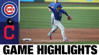 Rizzo, Bryant homer in Cubs' 7-2 win | Indians-Cubs Game Highlights 8/5/20