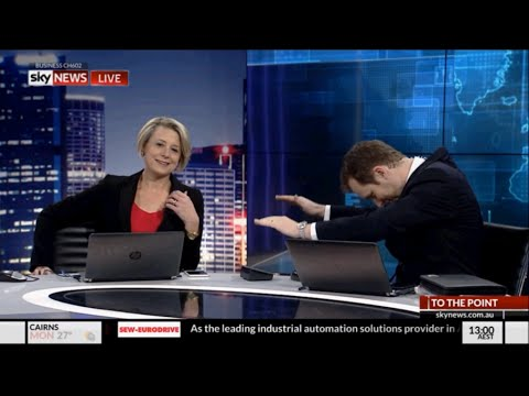 Peter van Onselen eats humble pie - To The Point - Sky News