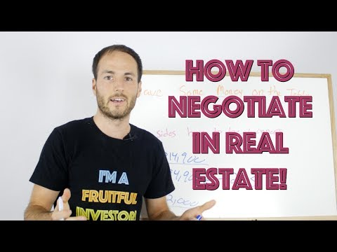 How To Negotiate When Buying OR Selling Real Estate (Real Life Secrets!)