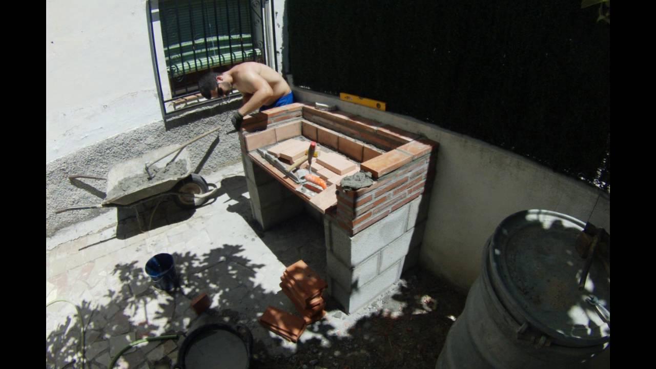 Construcci n de barbacoa youtube - Barbacoa leroy merlin carbon ...