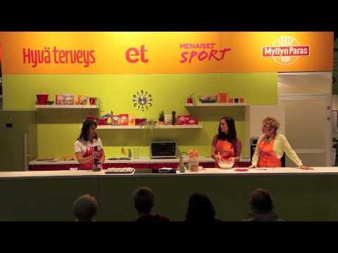 Suklaasydän-muffinit, Oivallusten Keittiö 2012