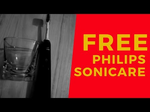 MUST WATCH FREE! PHILIPS SONICARE TOOTHBRUSH!