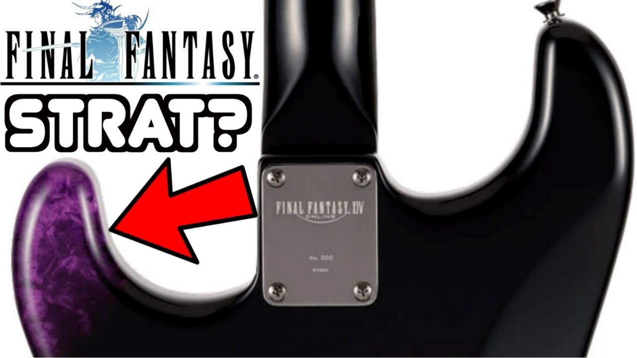 Fender's Latest Collaboration is Selling Out Like Crazy! | WYRON | Final Fantasy XIV Stratocaster
