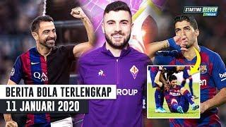 Gambar cover PIHAK BARCA SUDAH BERTEMU! Xavi Diminta Latih Barca 😱RESMI! Cutrone Ke Fiorentina 😱Suarez Operasi