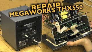 Cambridge Megaworks THX550 subwoofer repair