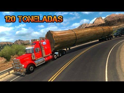 "Sobrepeso 120 Toneladas | Western Star 4900 | Tronco Gigante ""Baobab"""