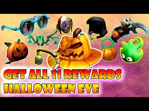 Amazing ROBLOX HALLOWEEN EVE: HOW TO GET ALL 11 ITEMS FROM SINISTER ...