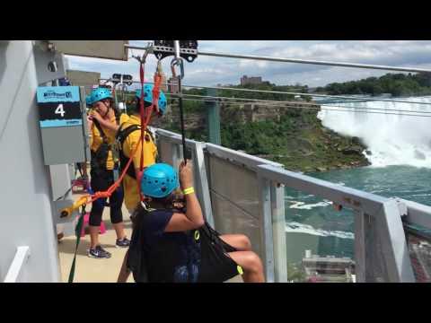 WildPlay Niagara Falls Zipline