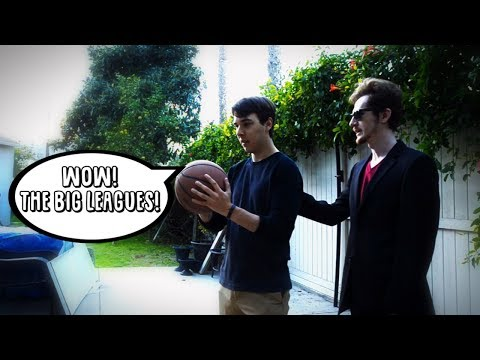 You've got some ballin' NBA skills, kid