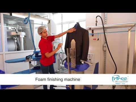 Foam Finishing at Prince Dry-cleaners