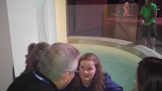 Lydia's baptism