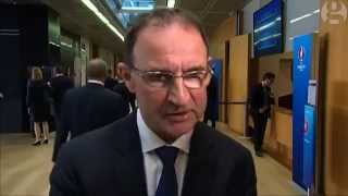 Euro 2016 qualifying play-offs - Post Draw Interview - Martin O