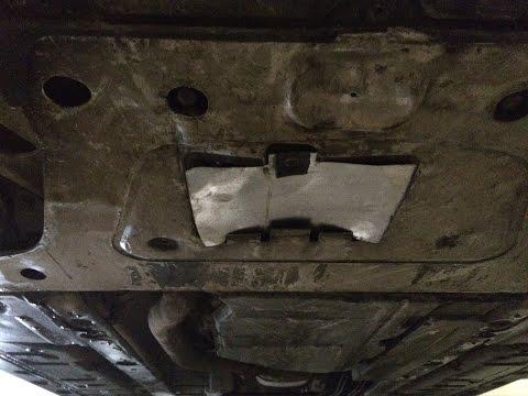 DIY METAL Oil pan trap door - BMW FRONT - люк масляного поддона