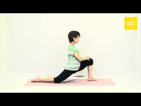 14腸腰筋のストレッチ