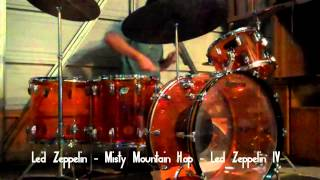 Led Zeppelin - Misty Mountain Hop (Drum Cover) w/ Music