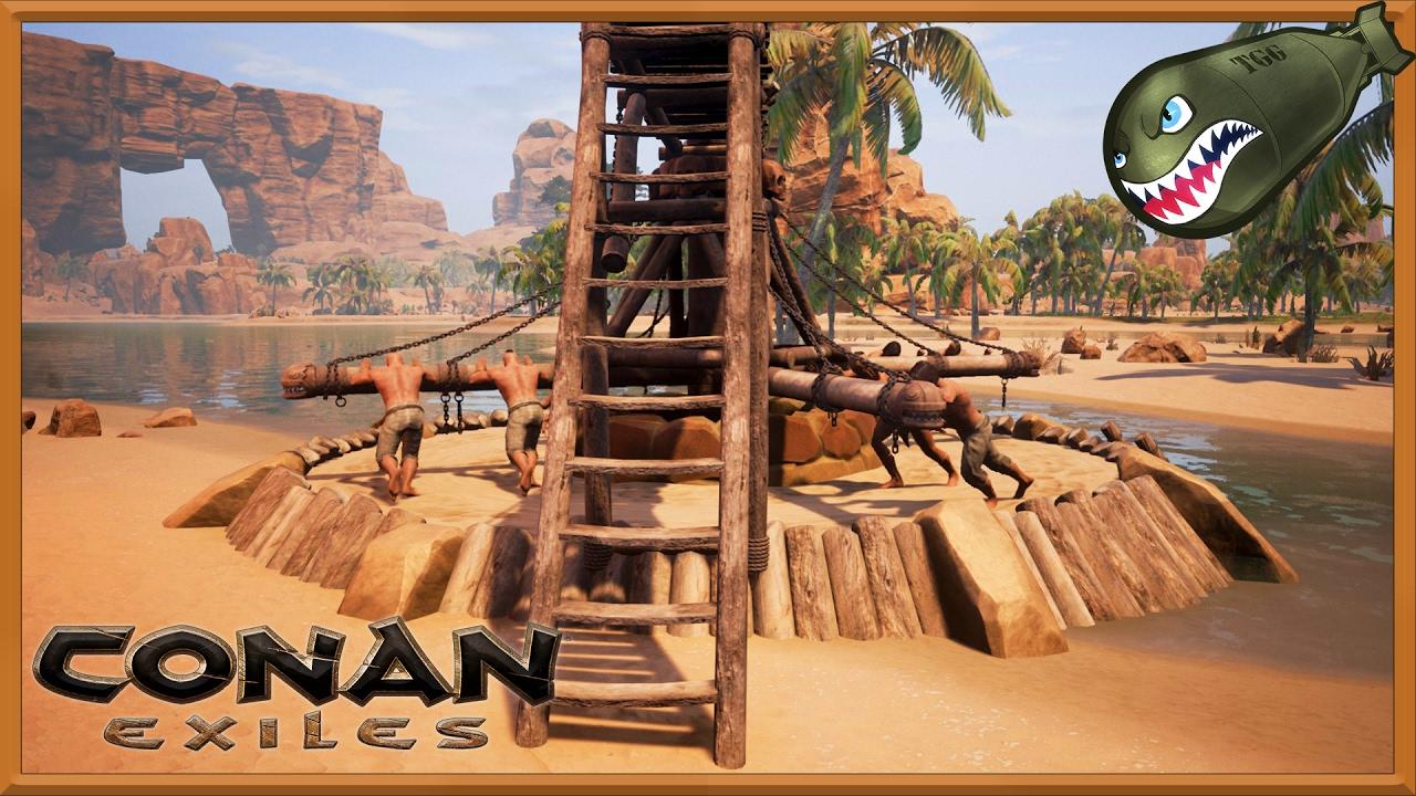 conan exiles how to get steel