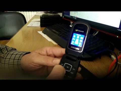Retro móvil, E 1190 de Samsung