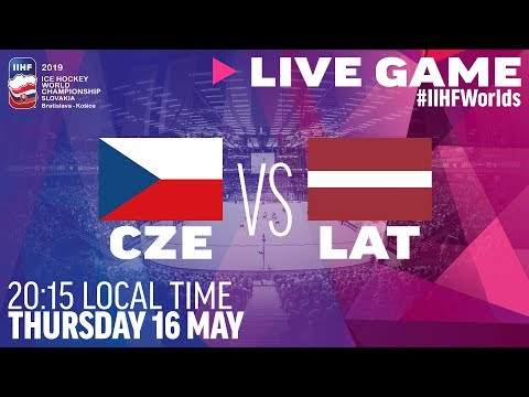 Czech Republic Vs. Latvia | Full Game | 2019 IIHF Ice Hockey World Championship