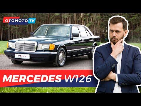 Mercedes W126 – Niezawodny klasyk | Test OTOMOTO TV