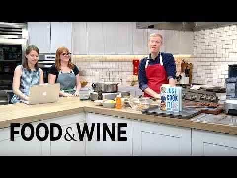 Ricotta Gnudi & Gluten-Free Peanut Butter Cookies: Just Cook It! | Mad Genius Live | Food & Wine