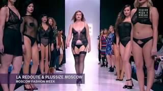 Показ La Redoute & Plus Size Moscow на Неделе Моды в Москве 25.10.17