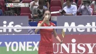 [ FHD ] Jsport2 Aya Ohori 大堀彩 vs Elisabeth Baldauf [Yonex Japan Open 2016]