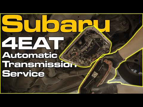 Subaru 4EAT Automatic Transmission Service