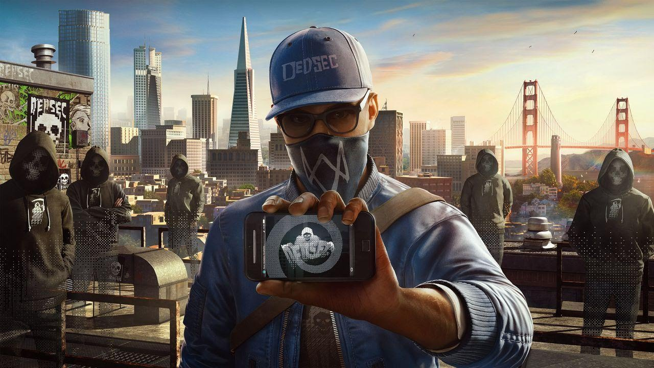 5 Minutes of Watch Dogs 2 Running on PS4 Pro