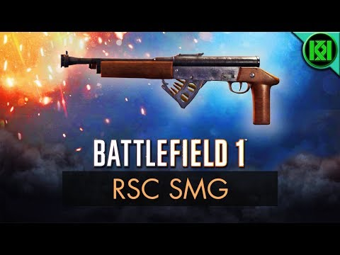 Battlefield 1: RSC SMG Review (Weapon Guide) | BF1 Apocalypse Guns | PS4 Gameplay (DLC)