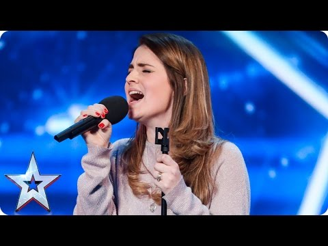 Can Sian Pattison do her daughter proud? | Auditions Week 3 | Britain's Got Talent 2017