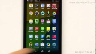 Google Nexus 7 - Connect Tablet To Computer