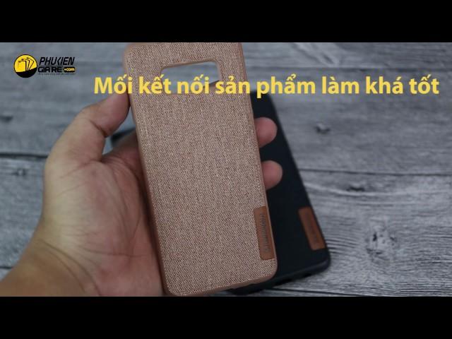 Ốp lưng Samsung Galaxy S8 vải Jean nhiều màu